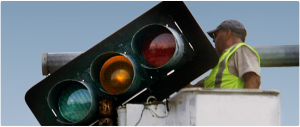 Traffic lights and street lighting installation materials