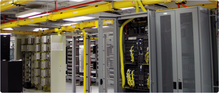 Wireline telecom data center
